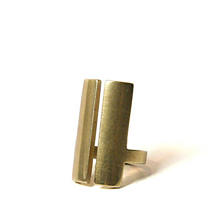 Marmol Radziner - Natural Bronze Split Ring