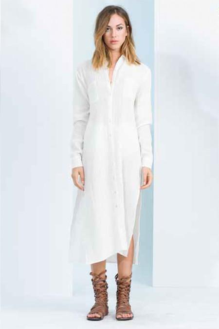 Vivianne Shirt Dress - LUCCA