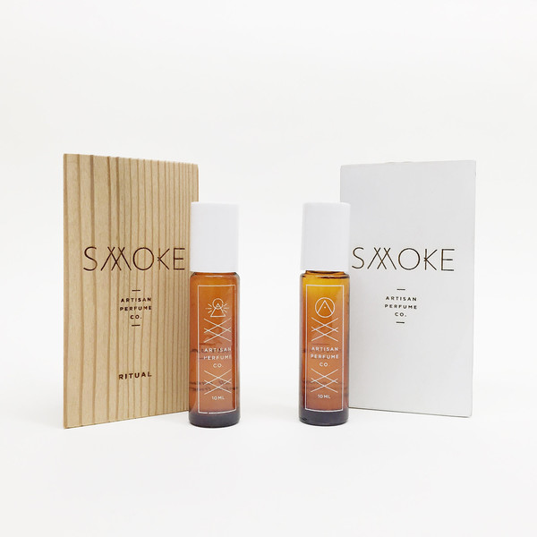 Smoke Perfume Roll On Fragrance - Signature Scent