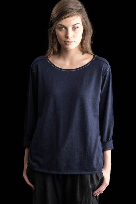 Paychi Guh Cashmere Everyday Scoop Navy