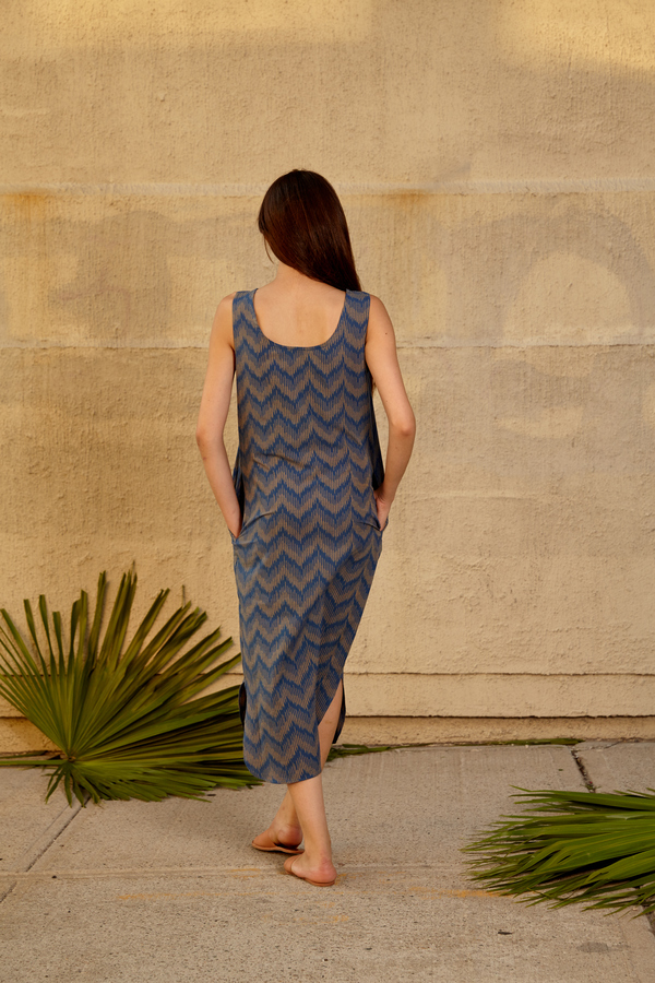 Tantuvi Column Tank Dress
