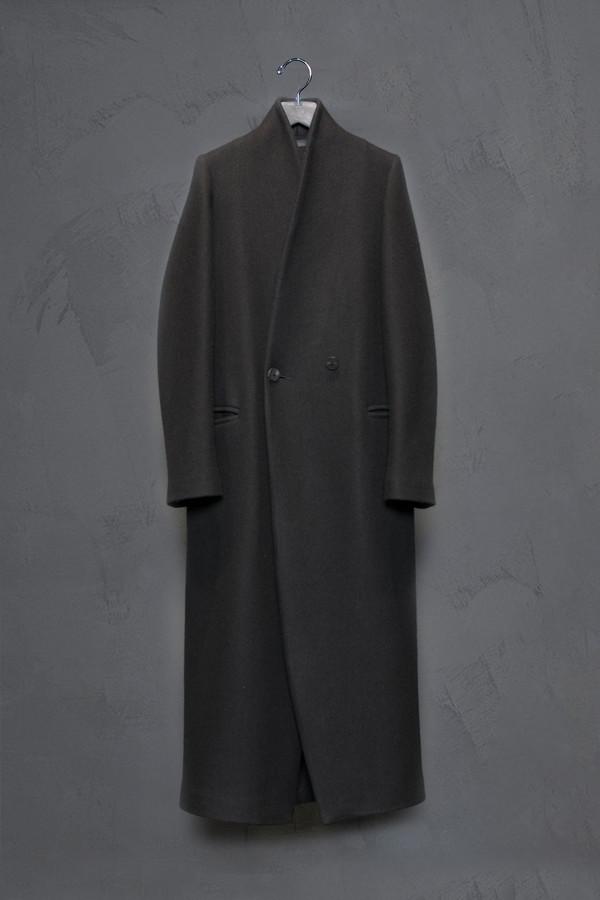 Isabel Benenato Long Woven Coat
