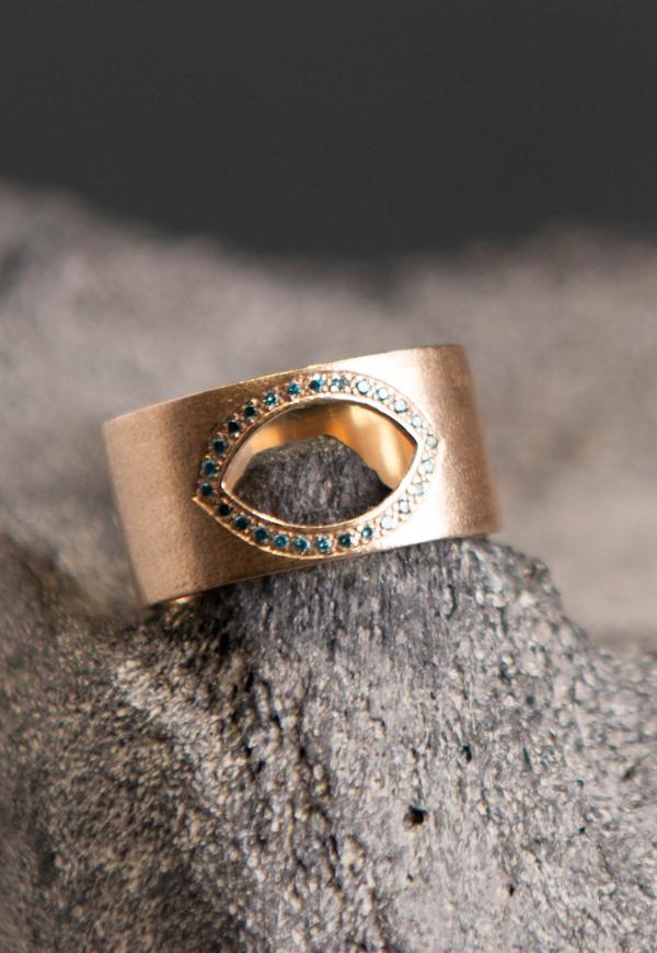 Love Rocks Evil Eye Ring