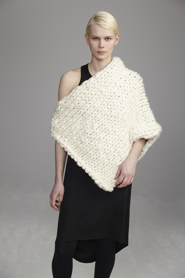 M. Collab Blanket Cape