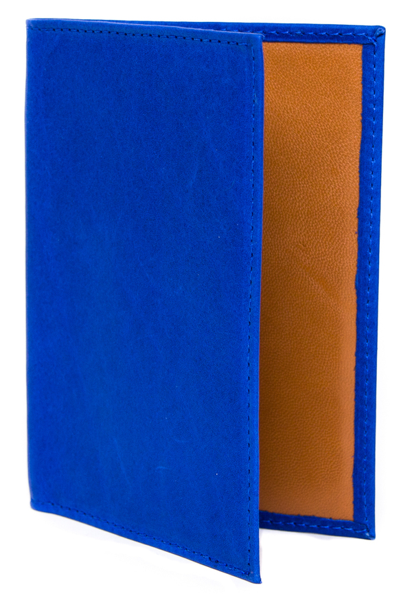 Clare Vivier Cobalt Passport Case