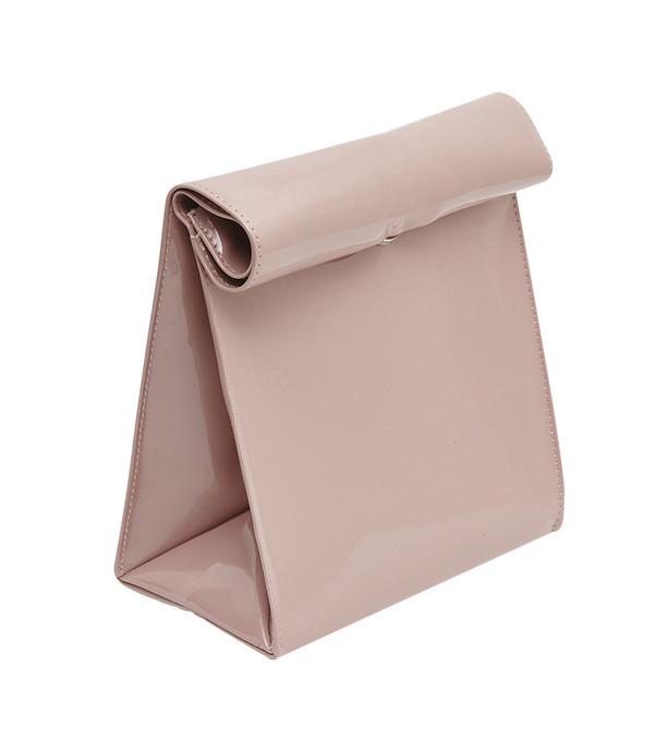 SMK Foldover Bag in Vintage Pink