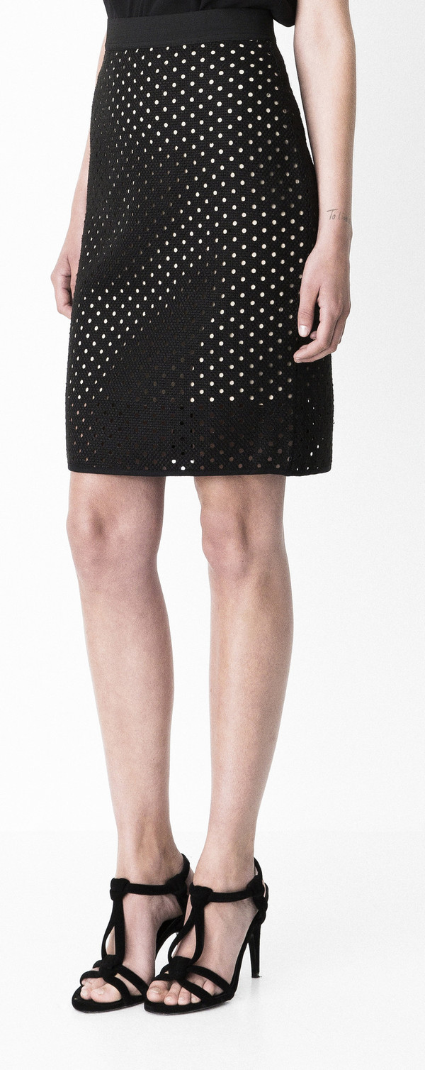 "Storm and Marie ""Dot"" Straight Skirt"