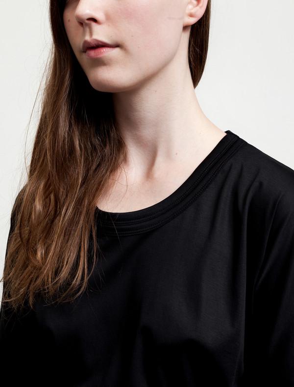 Lemaire Tunic Dress Black