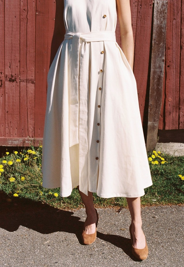 Luisa Et La Luna Paloma Dress - cream
