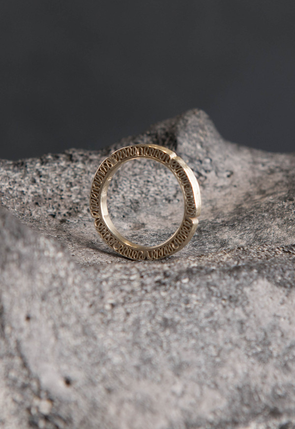 Petra Dömling 5 Diamond Ring Gold