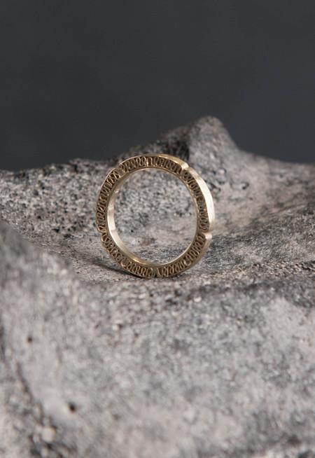 Petra Dömling 5 Diamond Ring Gold