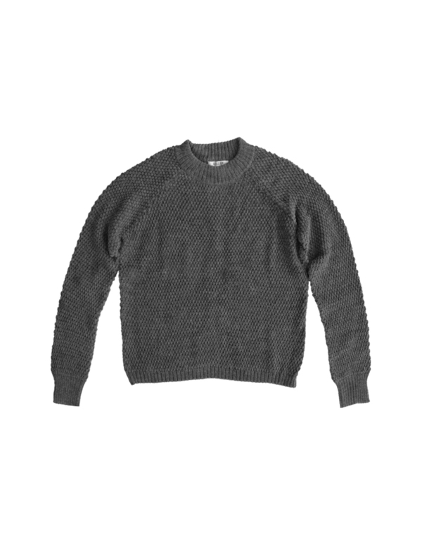 Ali Golden PULLOVER SWEATER - GREY