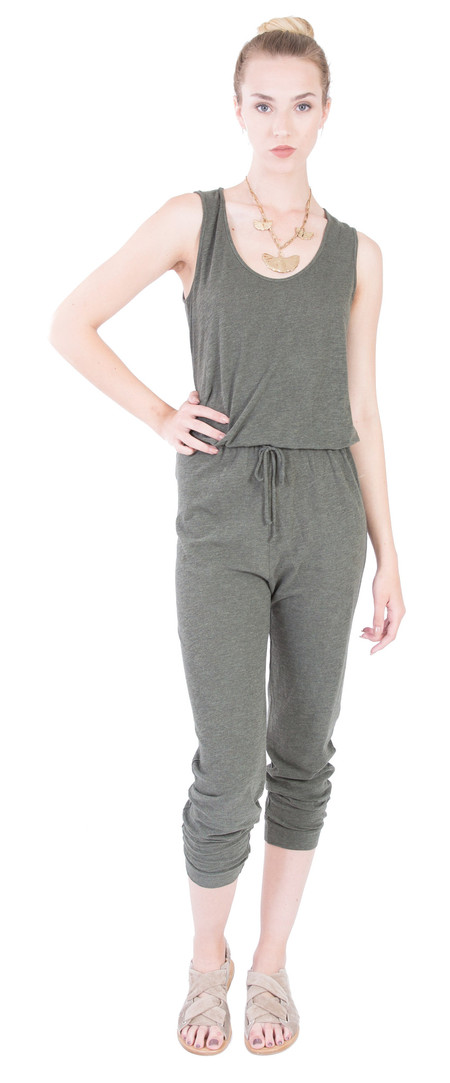 Lanston Jumpsuit in Military