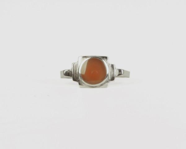 Men's Lacar Rook Inlay Ring