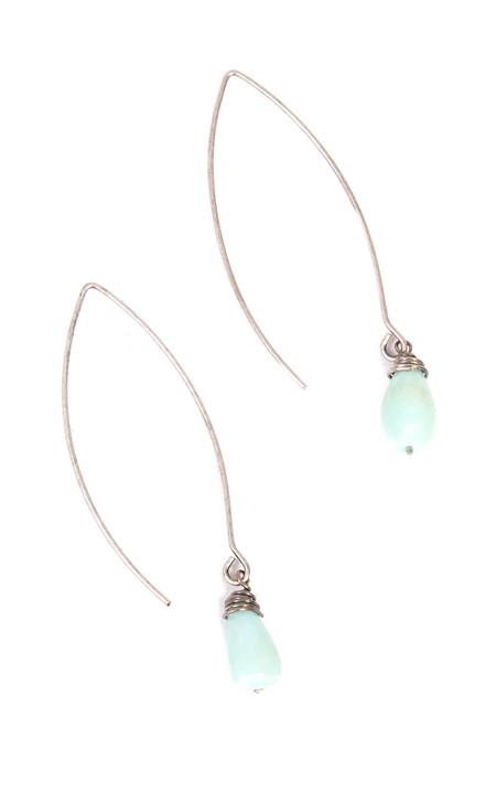 Sarah Dunn Peruvian Opal Drop Earring
