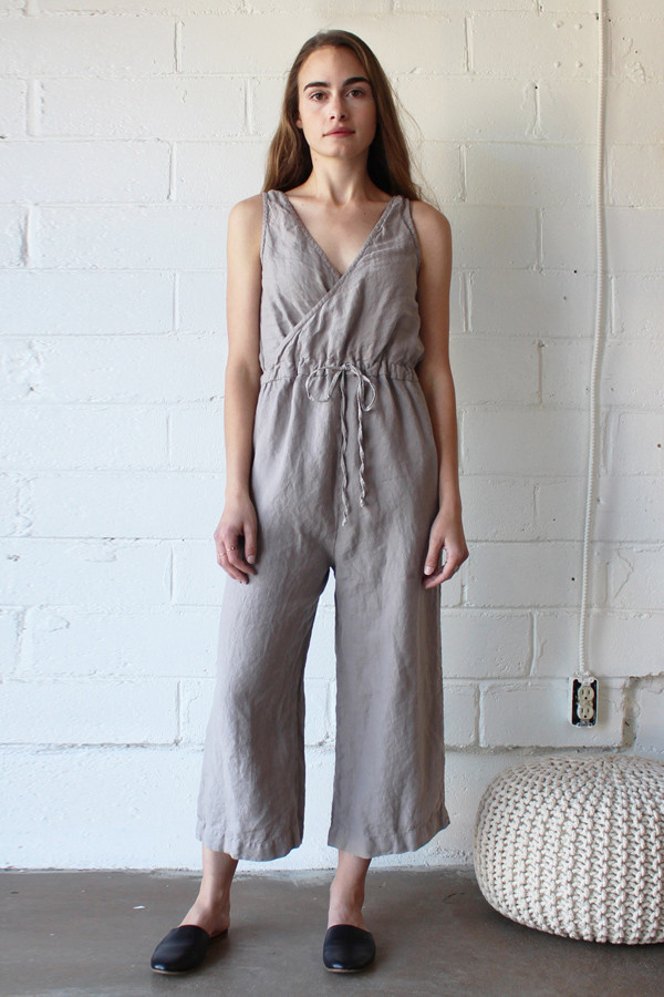 Esby Allison Cropped Jumper Driftwood