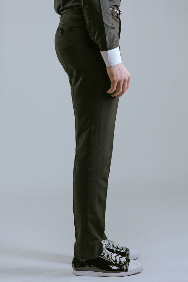 Any Old Iron Zipper Trousers