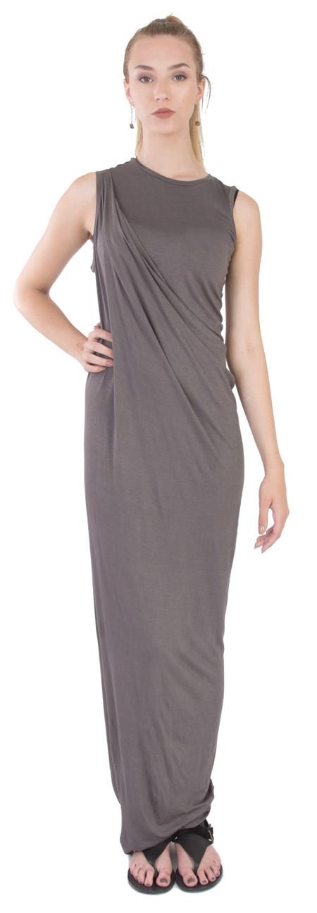 Laura Siegel Drape Long Dress