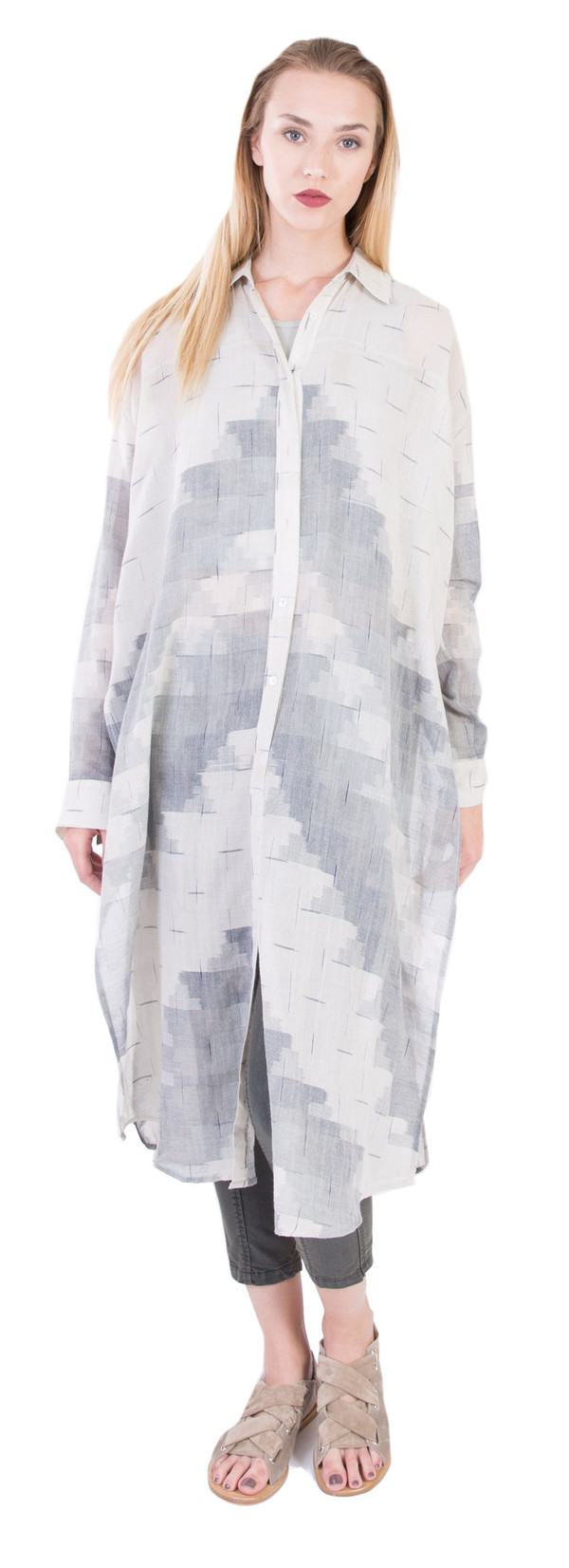 Laura Siegel Long Button Up Kurta