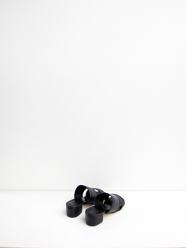 Maryam Nassir Zadeh Martina Mule, Black/Black