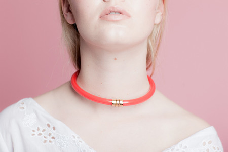 LUZ ORTIZ ENCE NECKLACE