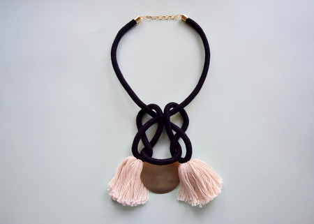 Lise Silva/Sacred Knots - Sunset Collar