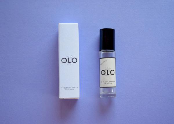 Olo Fragrance: Violet/Leather