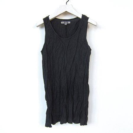 Flax Designs Rising Tank - black