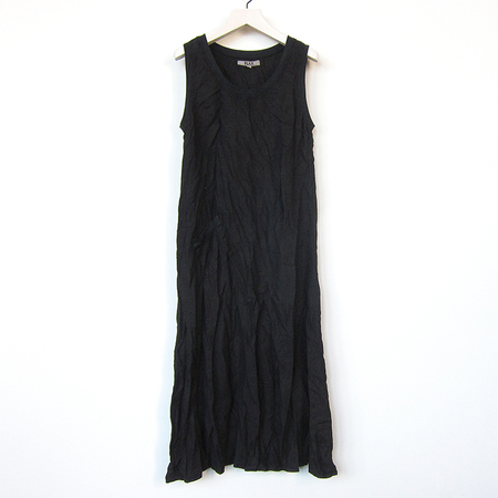 Flax Designs Serene Dress - black