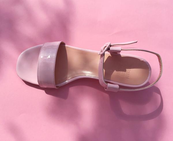 MARYAM NASSIR ZADEH SOPHIE SANDAL - Pink  Patent