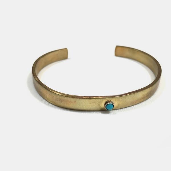 Giantlion Turquoise Stone Cuff