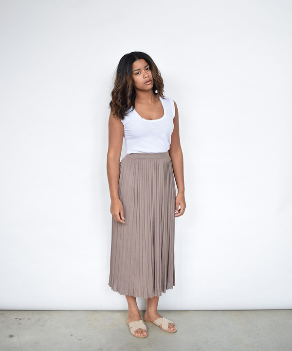 Lumiere Pleated Skirt