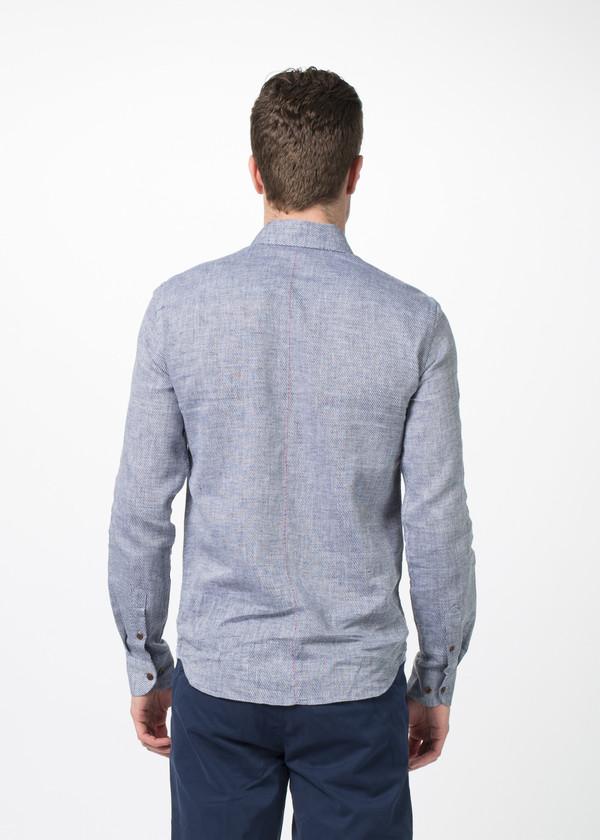 Men's Homecore Tokyo Linen Blend Button Down Shirt