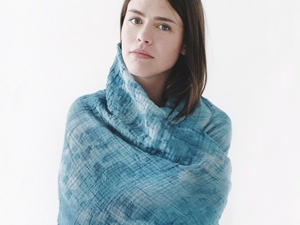 Scout & Catalogue NOMAD SCARF - INDIGO BLUE