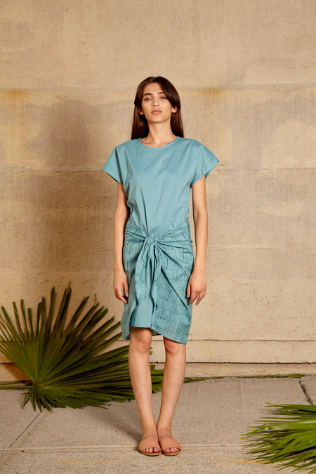 Tantuvi Voni Dress- Seagrid