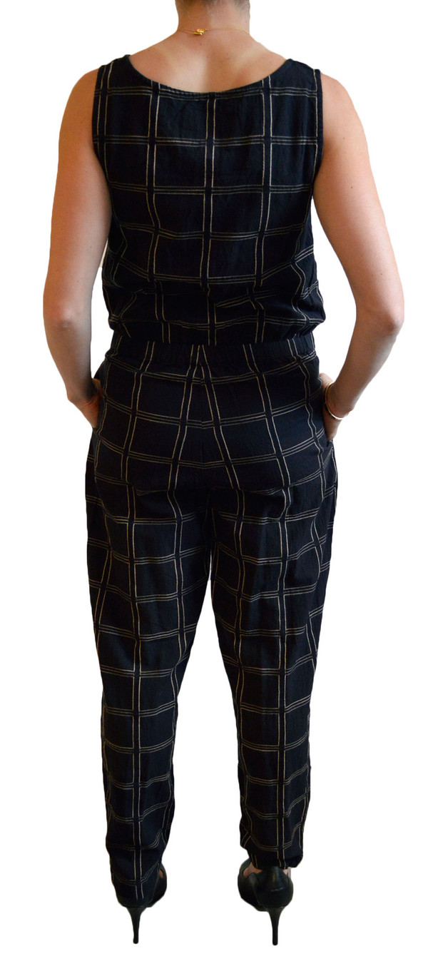 Ace & Jig Jumpsuit in Black Magic