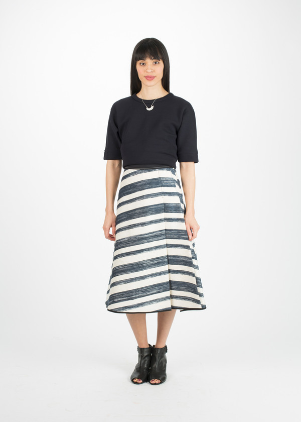 Odeeh Double Pleat Skirt