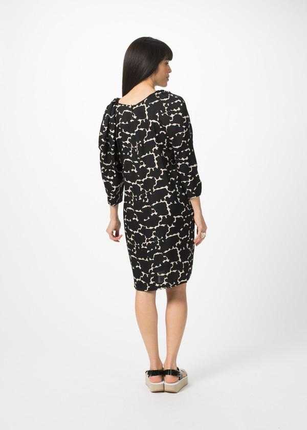 A Détacher Silk Danube Dress