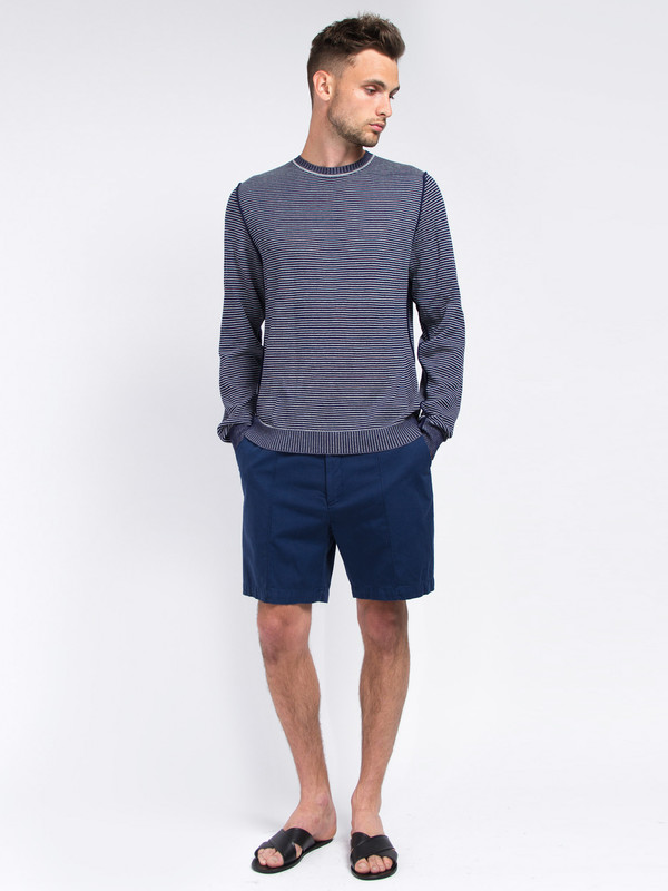 Men's Lucio Castro Grey Reversible Sweater