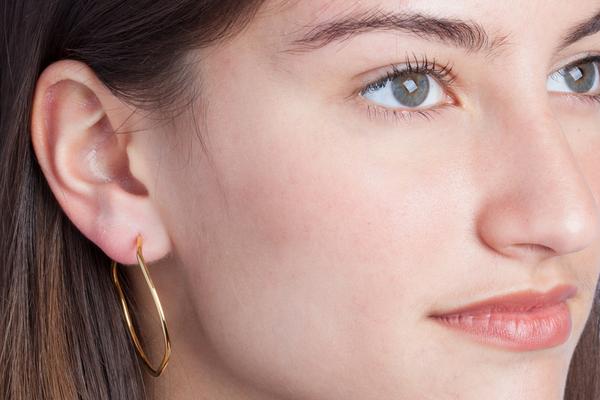 Shahla Karimi Subway Series Hoop Earrings - Yankee Stadium to Wall Street