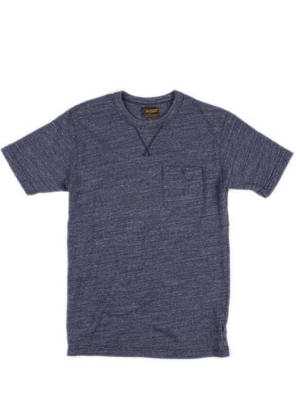 Men's National Athletic Goods V Pocket Tee Navy