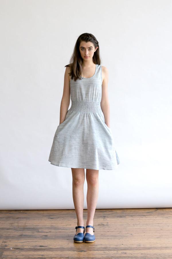 Bridge & Burn Orchard Blue Dress