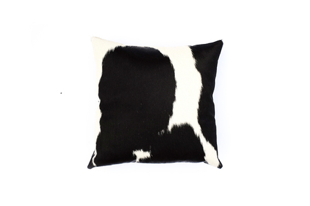 Primecut Black + White Cowhide Pillow