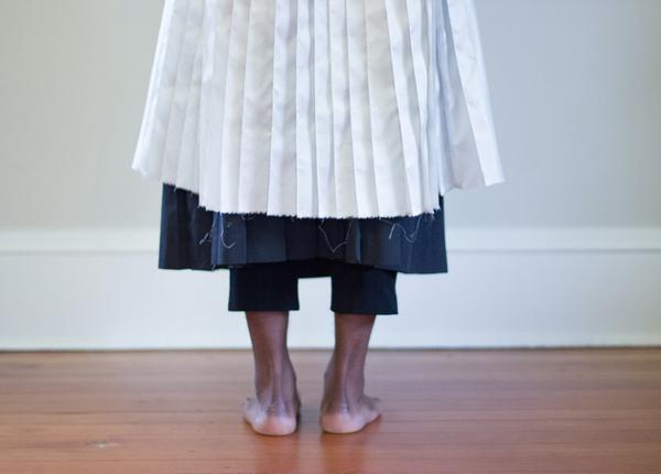 Alexa Stark Pleated Dress