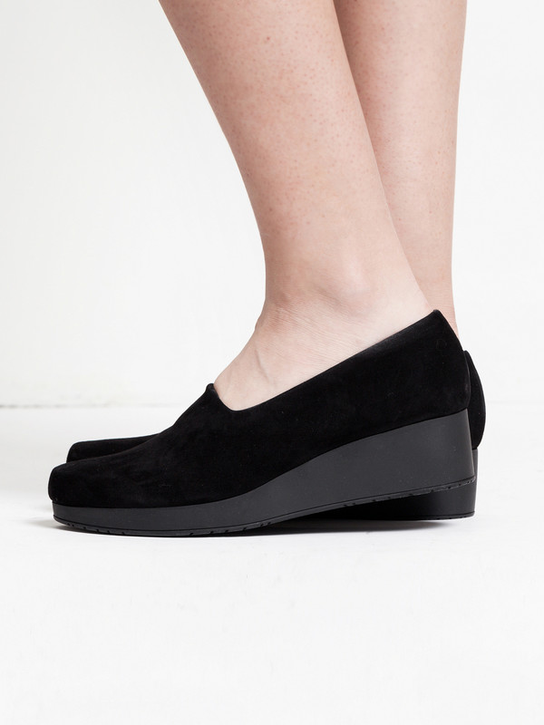 Robert Clergerie Naloj Wedge Black
