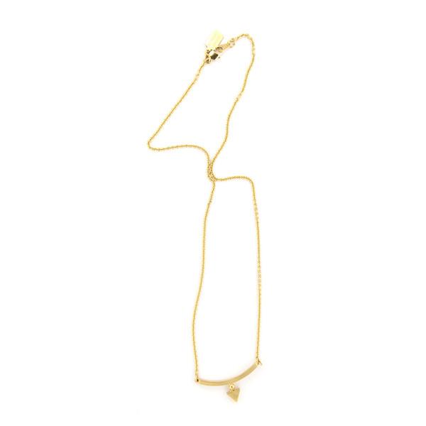 Alynne Lavigne Triangle Bar Necklace