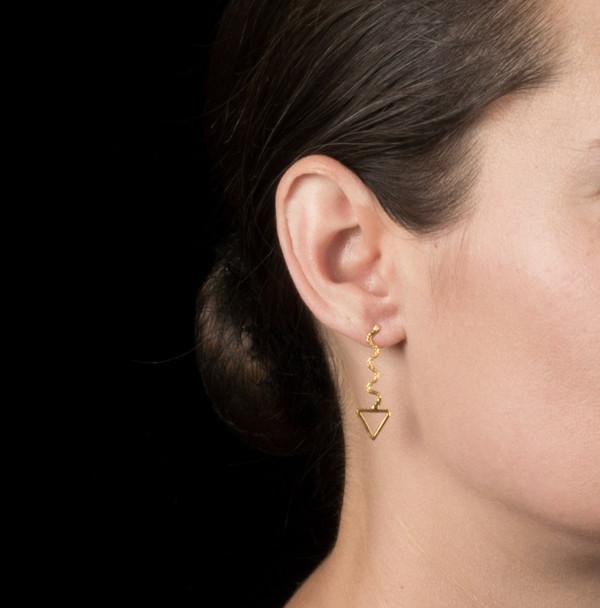 Alynne Lavigne Way Triangle Earrings