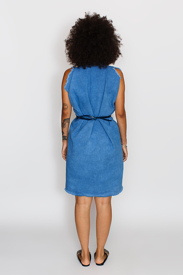 Miranda Bennett Tribute Dress, Denim in Indigo