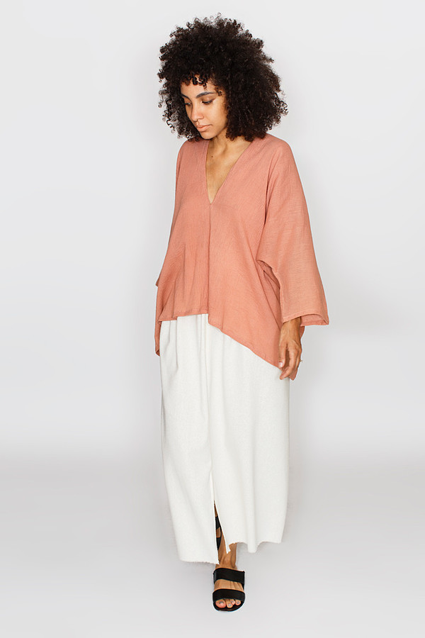Miranda Bennett Noon Muse Top | Cotton Gauze