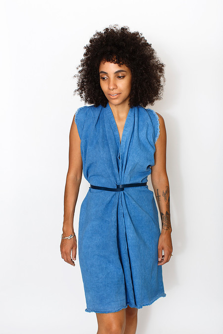 Miranda Bennett Indigo Tribute Dress | Denim